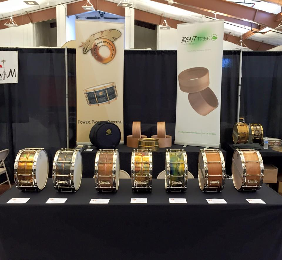 Joyful Noise booth at Chicago Drum Show 2015