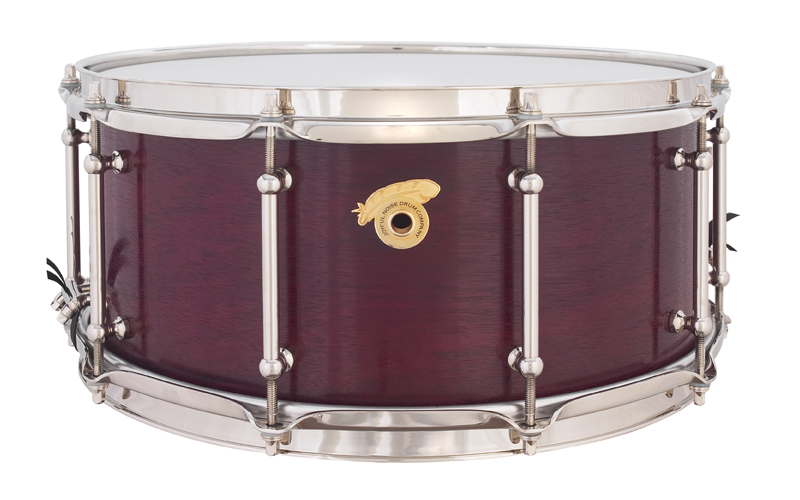 Exotic Purple Heart 6.5x14 Snare Drum
