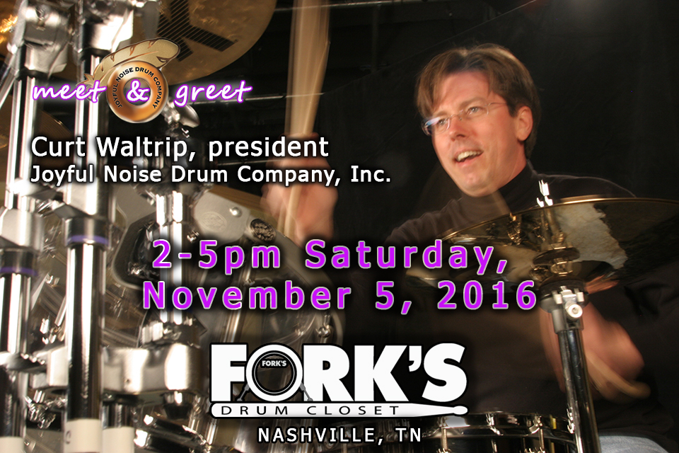 Joyful Noise Meet & Greet at Fork's Drum Closet